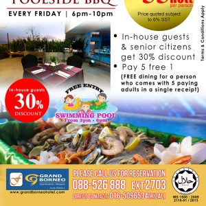 TGIF Poolside BBQ Every Friday