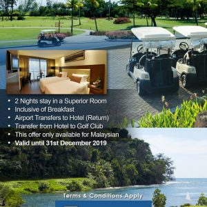 Golf Package 1 Day Playing Golf