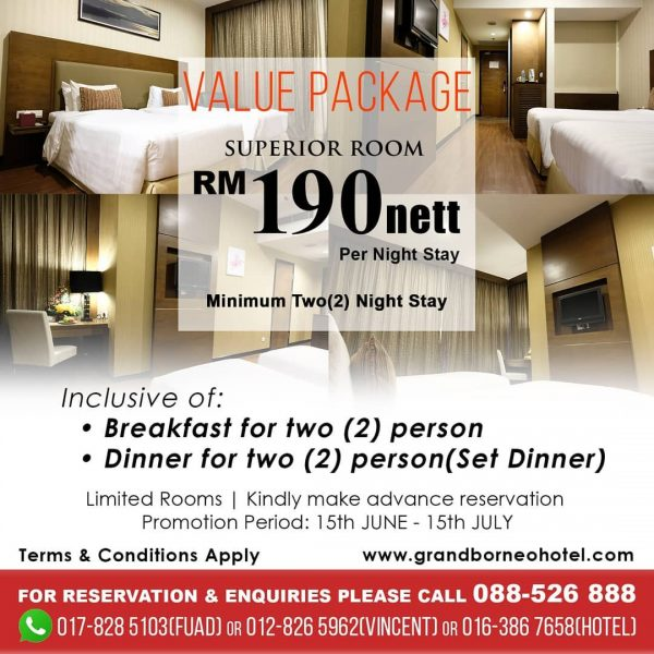 Value Package Superior Room