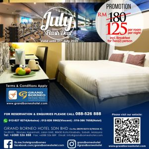 July Room RM125 deal